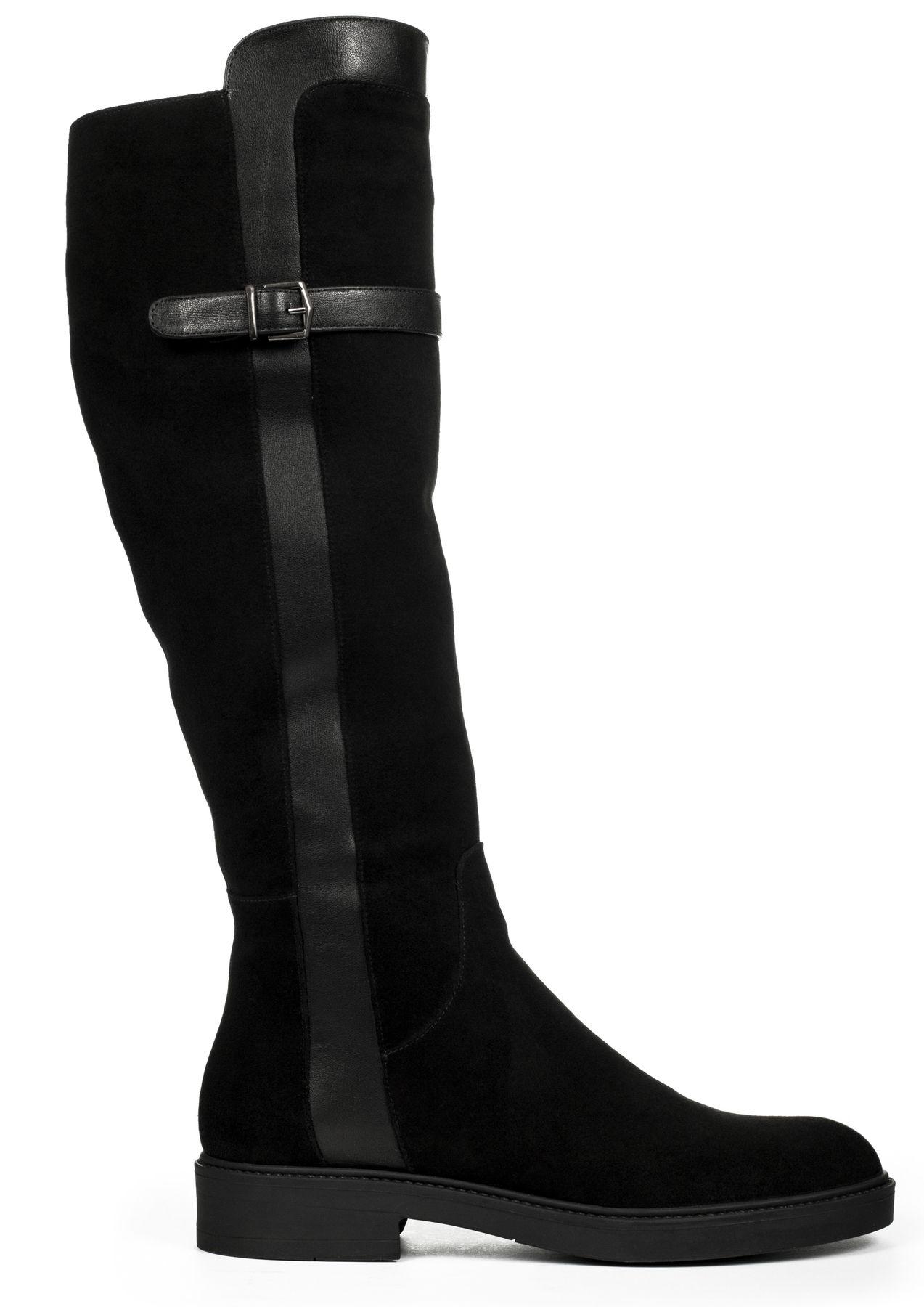 Замшеві чоботи купити в інтернет-магазині Wladna. Замовити Замшеві ... b9856a37162ab