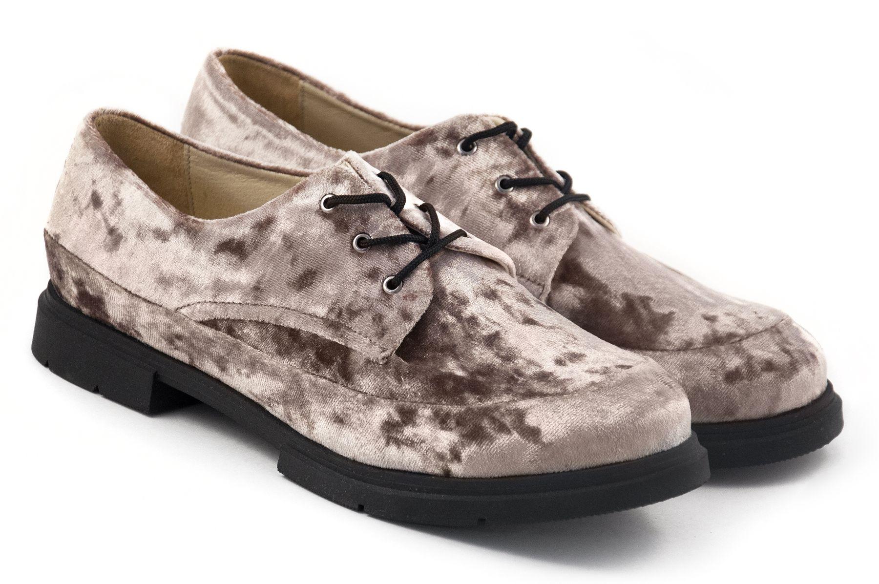 Туфлі з оксамиту купити в інтернет-магазині Wladna. Замовити Туфлі з ... a7a0c8916da3c