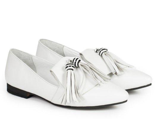 Туфлі білі купити в інтернет-магазині Wladna. Замовити Туфлі білі за ... 282fb0ffb8682
