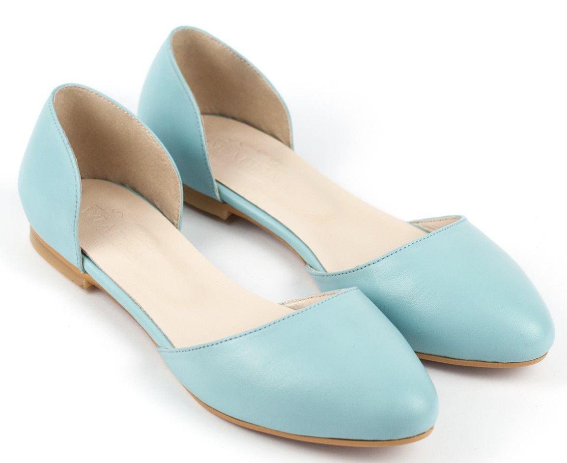 Балетки блакитні купити в інтернет-магазині Wladna. Замовити Балетки ... e1f3c224bb67c