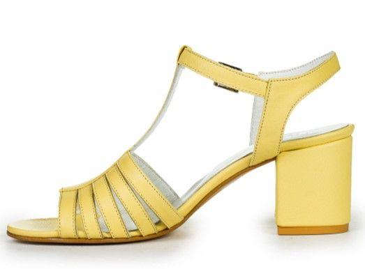 Босоніжки жовті купити в інтернет-магазині Wladna. Замовити ... 018fc828fc439