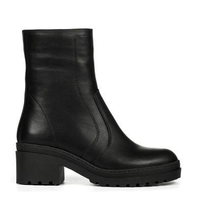 Черевики високі з чорної шкіри купити в інтернет-магазині Wladna ... 9f87de72a333e