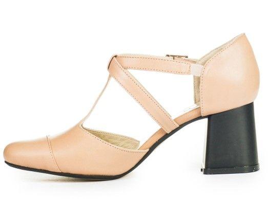 Босоніжки-туфлі рожеві купити в інтернет-магазині Wladna. Замовити ... 082b4ef352dfc